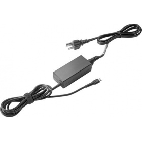 Адаптер HP 1HE07AA, 45W USB-C Power Adapter G2 (HP Elite x2 1012 G2/Pro x2 612 G2)