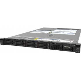 "Сервер Lenovo TS ThinkSystem SR630 (7X02A048EA) Rack 1U, Xeon 4114 10C (2.2GHz/85W), 32GB/2Rx4 RDIMM,noHDD 2,5"""" (up to 8), SR 930-8i (2GB Flash), noDVD, noGbE,2x750W Platinum p/s,2 power cord,XCC Enterprise"
