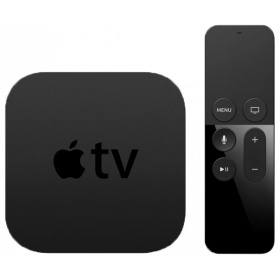 Медиаплеер Apple TV 32Gb (MR912RS/A), без HDD, 1080p (Full HD), HDMI, Ethernet, Wi-Fi, Bluetooth, tvOS, чипсет: Apple A8