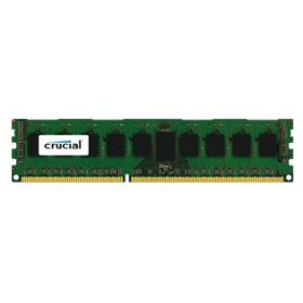 Модул памяти Crucial 4GB DDR3 1600 MT/s (PC3-12800) CL11 Unbuffered ECC UDIMM 240pin 1.35V/1.5V (4Gb 9 chip) (CT51272BD160BJ)