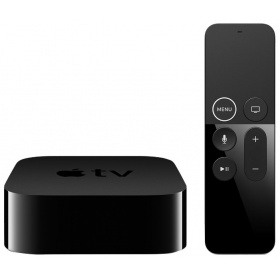 Медиаплеер Apple TV 4K 64Gb (MP7P2RS/A), без HDD, 4K UHD, HDMI, Ethernet, Wi-Fi, Bluetooth, tvOS, чипсет: Apple A10X Fusion
