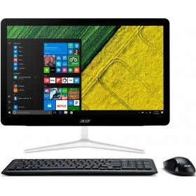 "Моноблок ACER Aspire Z24-880 (DQ.B8TER.001) 23,8"" FHD(1920x1080) i3 7100T, 4Gb, 1Tb/5400, GF940MX 2Gb, DVDRW, USB KB&Mouse, Win 10, black , 1y carry in"