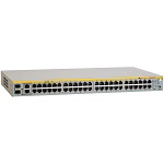 Коммутатор Allied Telesis AT-FS750/52-50, 48 Port Fast Ethernet WebSmart Switch with 4 uplink ports (2 x 10/100/1000T and 2 x SFP-10/100/1000T Combo ports)