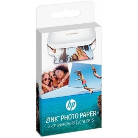 Бумага HP ZINK Sticky-Backed Photo Paper, 5x7.6 cm, 20 sheets (W4Z13A)