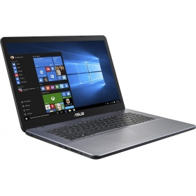"Ноутбук ASUS F705UA-BX424T (90NB0EV1-M05200) 17.3""(1600x900 (матовый))/ Intel Core i5 7200U(2.5Ghz)/ 8192Mb/ 1000Gb/DVDrw/ Int:Intel HD/Cam/ BT/ WiFi/war 1y/ 2.1kg/ grey/W10"