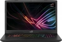 "Ноутбук ASUS ROG GL703GS-E5053T (90NR00E1-M02160) 17.3""(1920x1080 (матовый))/ Intel Core i7 8750H(2.2Ghz)/ 16384Mb/ 1000Gb/ noDVD/ Ext:nVidia GeForce GTX1070(8192Mb)/Cam/ BT/ WiFi/ war 1y/ 3kg/ black/ W10"