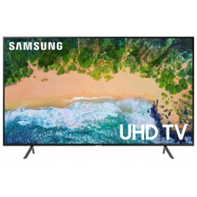 "Жидкокристаллический телевизор Samsung UE-43NU7100UX, 43"", Ultra HD, Smart TV,Wi-Fi, Voice, PQI 1300, DVB-T2/C/S2, Smart control"