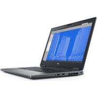 "Ноутбук DELL Precision 7730 (7730-6986) Core i7-8850H (2,6GHz)Ultrasharp 17,3"" FullHD IPS Antiglare 16GB (2x8GB) DDR4 256GB SSD Nv Quadro P3200 (6GB DDR5)6 cell (97WHr) 2xThunderbolt 3 Smart Card, FPR, vPro,TPM 3y W10 Pro"