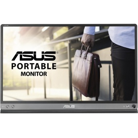 "Монитор ASUS MB16AC, 15.6"" ZenScreen MB16AC портативный монитор, USB Type-C, Full HD (1920x1080), IPS, фильтрация синего света, минимизация мерцания, сертификация TUV, совместимость с USB Type-A"