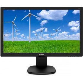"Монитор 23,6"" Philips 243S5LHMB 1920x1080 IPS W-LED 16:9 1ms VGA HDMI 10M:1 170/160 250cd Speakers HAS Pivot Swivel Tilt Blak (243S5LHMB/01)"