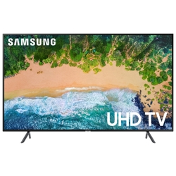 "Жидкокристаллический телевизор Samsung UE-40NU7100UX, 40"", Ultra HD, Smart TV,Wi-Fi, Voice, PQI 1300, DVB-T2/C/S2, Smart control"