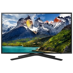 "Жидкокристаллический телевизор Samsung UE-49N5500AUX, 49"", Full HD, PQI 500, Smart TV, DVB-T2/C, black"