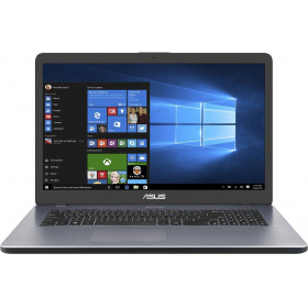 "Ноутбук ASUS A705UB-GC119 (90NB0IG2-M01450) 17.3""(1920x1080 (матовый))/ Intel Core i5 8250U(1.6Ghz)/ 4096Mb/ 500Gb/DVDrw/ Ext:nVidia GeForce MX110(2048Mb)/Cam/ BT/ WiFi/42WHr/ war 2y/ 2.1kg/ grey/ Linux"