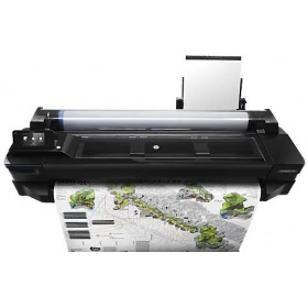 "Плоттер HP Designjet T520 ePrinter (CQ893E) 36"",4color,2400x1200dpi,1Gb, 35spp(A1), USB/LAN/Wi-Fi, (NO STAND), rollfeed, sheetfeed, tray50(A3/A4), autocutter, GL/2,RTL,PCL3GUI,1y warr"