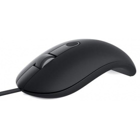 Мышь Dell MS819 (570-AARY) wired with FPR, USB Black Mouse (Kit)