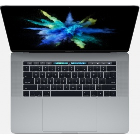 "Ноутбук Apple MacBook Pro with Touch Bar - Space Gray (Z0UC0009M)/ 15"", 3.1GHz Quad-core Intel Core i7, Turbo Boost up to 4.1GHz/16GB 2133MHz LPDDR3 SDRAM/1TB PCIe-based SSD/Radeon Pro 560 with 4GB GDDR5 memory + Intel HD Graphics 630"
