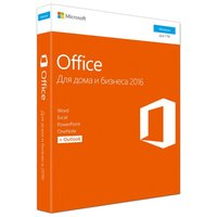 ПО Microsoft Office Home and Business 2016 64 Russian Only DVD (T5D-02705)
