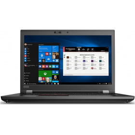 "Ноутбук Lenovo P72 (20MB000TRT) 17.3"" FHD (1920 x 1080) IPS /i7-8750H /1x 8GB DDR4-2400Mhz /256GB M.2 PCI-e SSD /1TB 7200 HDD /Quadro P600 2GB /No ODD /Non-WWAN, not upgradable /FPR /IR Camera /backlit /SCR /6 Cell 99Whr /230W slim tip / /3 x USB 3.0 A, 2 x TBT3, HDMI 2.0, miniDP 1.4, SD, Audio, RJ45 / /Windows 10 Pro /3 Year CI /Black"