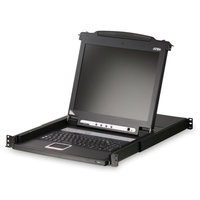 Переключатель ATEN CL5708iMR SINGLE RAIL 8P PS/2-USB LCDKVMP 17INCH WIH IP
