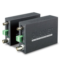 Медиаконвертор Planet VF-102G-KIT, 1-Channel 4-in-1 Video over Gigabit Fiber(FC) converter up to 20KM, a pair include Tx & Rx in package (TVI/CVI/AHD/CVBS)
