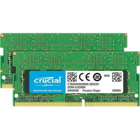 Модуль памяти Crucial CT2K16G4SFD8266 SODIMM 32GB Kit (16GBx2) DDR4 2666 MT/s (PC4-21300) CL19 DR x8 Unbuffered 260pin