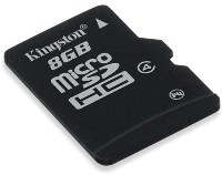 Карта памяти Kingston micro Secure Digital Card 8Gb
