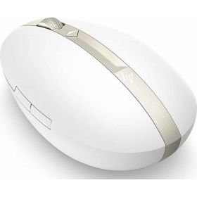 Мышь HP Spectre Rechargeable Mouse 700 White (4YH33AA), оптическая, беспроводная (Bluetooth), 1600 dpi, USB