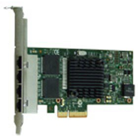 Сетевая карта Silicom PE2G4I35L Quad Port Copper Gigabit Ethernet PCI Express Server Adapter X4, Based on Intel i350AM4, Low-Profile, RoHS compliant