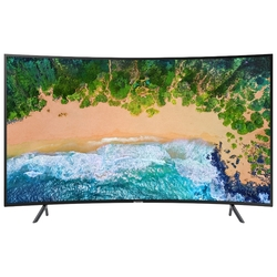 "Жидкокристаллический телевизор Samsung UE65RU7300UX 65"", Ultra HD, Smart TV,Wi-Fi, Voice, PQI 1400, DVB-T2/C/S2, curved, Smart control"