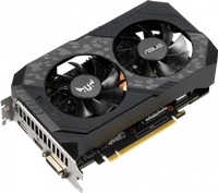 Видеокарта nVidia GeForce GTX1660 ASUS PCI-E 6144Mb (TUF-GTX1660-O6G-GAMING), PCI-E 3.0, ядро - 1530 МГц, Boost - 1845 МГц, память - 6 Гб GDDR5 8002 МГц, 192 бит, DVI, HDMI, DisplayPort, Retail