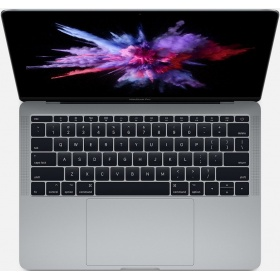 Ноутбук Apple Z0UH0008D 13-inch MacBook Pro - Space Gray/2.3GHz Dual-core Intel Core i5, Turbo Boost up to 3.6GHz/16GB 2133MHz LPDDR3 SDRAM/512GB PCIe-based SSD/Intel Iris Plus Graphics 640