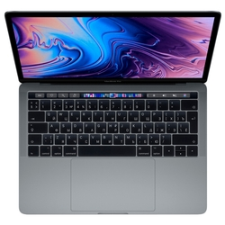 Ноутбук Apple 13-inch MacBook Pro with Touch Bar (MV962RU/A): 2.4GHz quad core 8th generation Intel Core i5 (TB up to 4.1GHz)/8Gb/256GB/Intel Iris Plus Graphics 655 - Space Grey