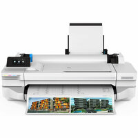 "Плоттер HP DesignJet T130 Printer (5ZY58A) 24"",4color,1200x1200dpi,256Mb, 35spp(A1), USB/LAN/Wi-Fi, rollfeed, sheetfeed,tray50( A3/A4), autocutter,2y warr"