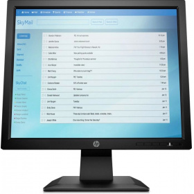 Монитор HP P174 (5RD64AA) LED 17 Monitor 1280x1024, TN, 250 cd/m2, 1000:1, 5ms, 170°/160°, VGA, bezel standart, Black