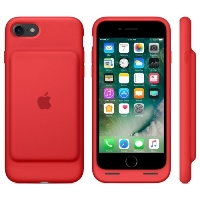 Чехол-аккумулятор Apple MN022ZM/A для iPhone 7 Smart Battery Case - Red