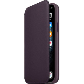 Чехол Apple iPhone 11 Pro Leather Folio (MX072ZM/A) - Aubergine