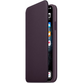 Чехол Apple iPhone 11 Pro Max Leather Folio (MX092ZM/A) - Aubergine