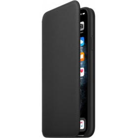Чехол Apple iPhone 11 Pro Max Leather Folio (MX082ZM/A) - Black