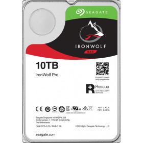 "Жесткий диск HDD 10Tb Seagate IronWolf Pro ST10000NE0008 3.5"""" SATA 6Gb/s 256Mb 7200rpm"