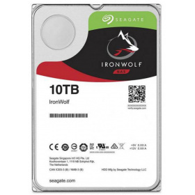 "Жесткий диск HDD 10Tb Seagate IronWolf ST10000VN0008 3.5"""" SATA 6Gb/s 256Mb 7200rpm для NAS"