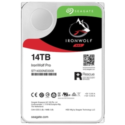 "Жесткий диск HDD 14Tb Seagate IronWolf Pro ST14000NE0008 3.5"""" SATA 6Gb/s 256Mb 7200rpm"