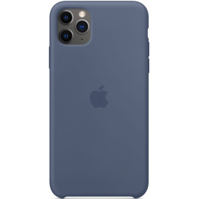 Чехол Apple iPhone 11 Pro Max Silicone Case (MX032ZM/A) - Alaskan Blue