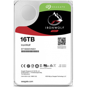 "Жесткий диск HDD 16Tb Seagate IronWolf ST16000VN001 3.5"""" SATA 6Gb/s 64Mb 7200rpm для NAS"