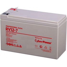 Батарея CyberPower Professional series RV 12-7 / 12V 7.5 Ah