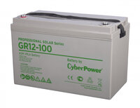 Батарея CyberPower Professional solar series (gel) GR 12-100 / 12V 100 Ah