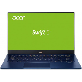 Ноутбук ACER Swift 5 SF514-54GT-724H (NX.HU5ER.002), 14 FHD(1920х1080) IPS Touch, i7-1065G7 1.30 Ghz,16 GB DDR4,1TB PCIe NVMe SSD+32GB Optane,NV GeForce MX350,WiFi, BT, HD Camera, FPR, 56Wh, Win 10 Pro, 3 CI, Blue, 1.19kg