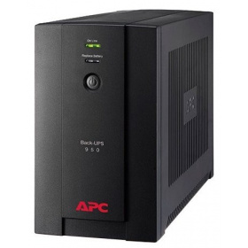 APC Back-UPS 950VA/480W (BX950U-GR), 230V, AVR, Interface Port USB, 4xSchuko outlets, user repl. batt., 2 year warranty