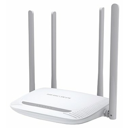 Маршрутизатор Mercusys MW325R N300 Superior Wi-Fi router, Mediatek chipset, 2T2R, up to 300Mbps at 2.4 GHz, 802.11 b/g/n, 1 WAN port 10/100Mbps + 3-port LAN 10/100 Mbps, 4, fixed antenna 5 dBi
