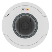 Сетевая камера AXIS M5054 (01079-001) Ceiling-mount mini PTZ dome camera with 5x Optical zoom and autofocusing, HDTV 720p (1280x720) 25/30fps in H.264 with Zipstream and Motion JPEG