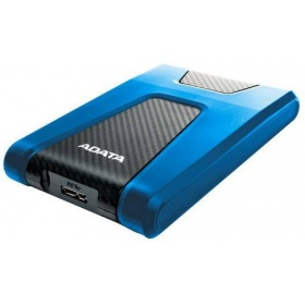 Внешний жесткий диск ADATA AHD650-2TU31-CBL USB3.1 2TB DashDrive HD650 Blue